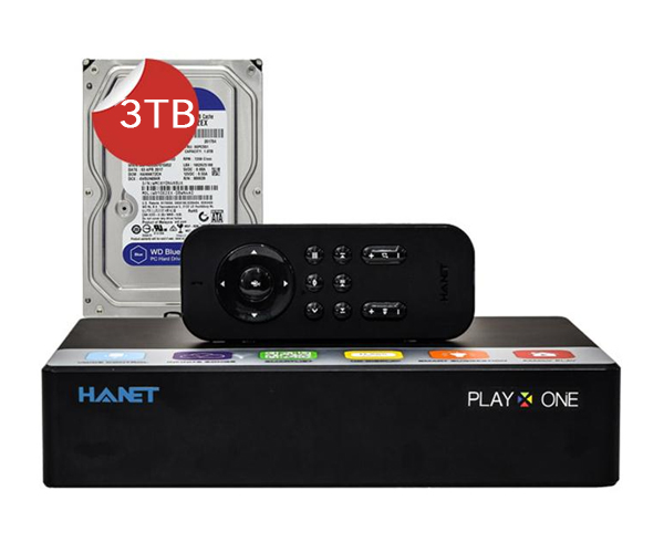 Hanet PlayX One 3TB