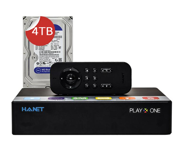 Hanet PlayX One 4TB